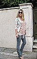Tom ford anouk sunglasses+floral blazer+leyendecker fringe nude dress+gray jeans (4814213165).jpg