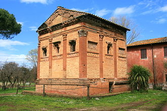 "Appian Way Regional Park - ""Tomb of Annia Regilla in the Caffarella Park"""
