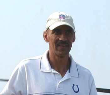 Tony Dungy, the head coach of the Indianapolis...