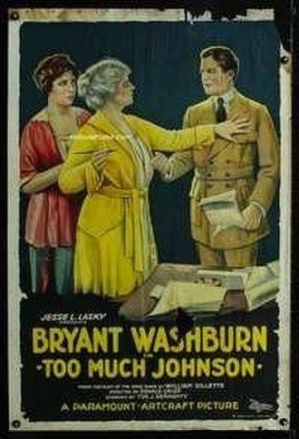Too Much Johnson (1919 film) - Film poster