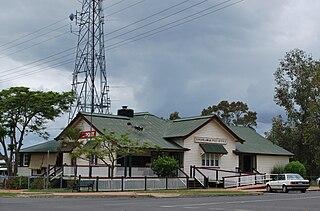 Toogoolawah Town in Queensland, Australia