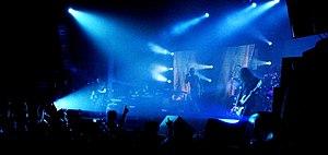 Tool (band) - Image: Tool live barcelona 2006