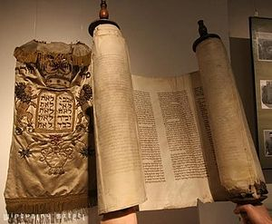 Virtual Shtetl - Torah scroll of the dress