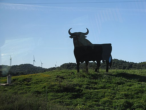 learn Spanish: Toros de Osborne sign-Spain