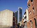 Torre CajaMadrid y Torre SyV (CTBA) desde La Ventilla - panoramio.jpg