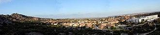 Torrelodones - Panoramic view of Torrelodones town