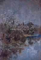 Toulouse-Lautrec - AU BORD DE L'EAU, 1880, MTL.35.jpg