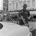 Tour de France , in Charleroi, de Nederlandse ploeg. Wout Wagtmans , zijn fiets , Bestanddeelnr 908-7409.jpg