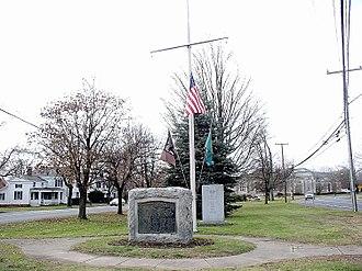 Ellington, Connecticut - The town green