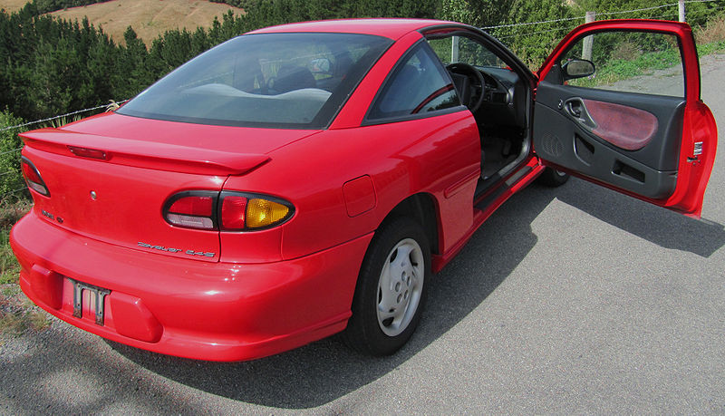 how to break into a pontiac sunfire from the trunk