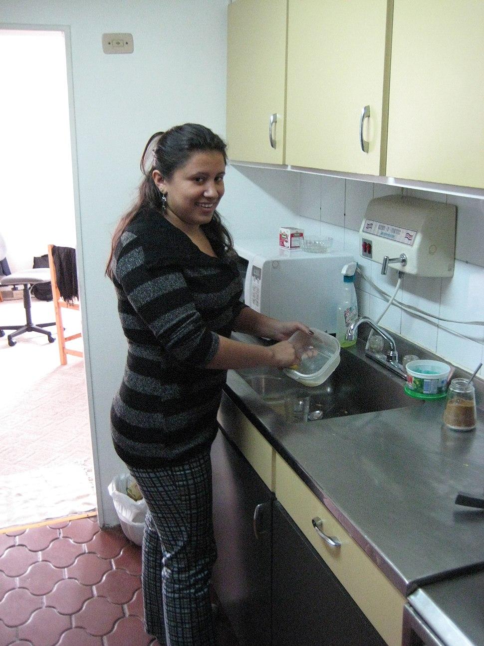 Trabajadora doméstico