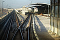 Tracks on the north of Zhuxinzhuang Station.JPG