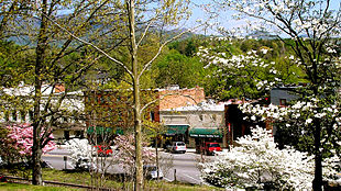 Trade Street, Tryon, North Carolina