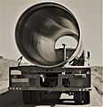 Transportation of a large pipe in the Armenia.jpg