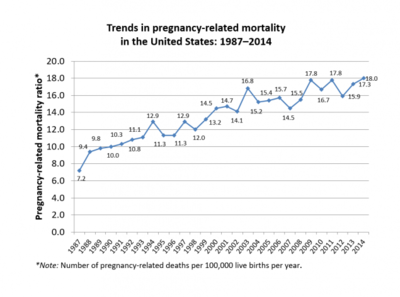 Maternal mortality in the United States - Wikipedia