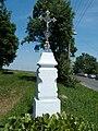 Trhový Štěpánov - křížek u hřbitova.jpg