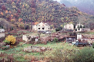 Trnovo, Republika Srpska - Ruined Trnovo, 9 October 1996.