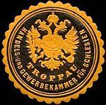 Troppau, Siegelmarke Handels- und Gewerbekammer.jpg