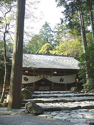 Tsubaki Grand Shrine - Tsubaki Grand Shrine's haiden