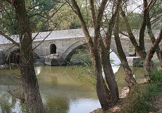 Tundzha - The Tunca River at Edirne, Turkey