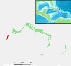 Turks and Caicos Islands - West Caicos.PNG