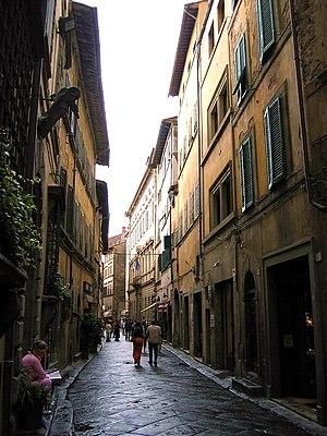 Cortona - Via Nazionale or Ruga Piana.
