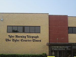 Tyler Morning Telegraph - Tyler Morning Telegraph building