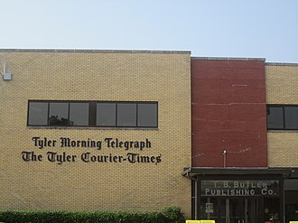 Tyler Morning Telegraph - Tyler Morning Telegraph building