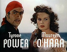 Tyrone Power Maureen O'Hara Black Swan 7.jpg