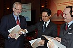 U.S. Ambassador David B. Shear at the Provincial Competitiveness Index 2011 Launch (6778601282).jpg