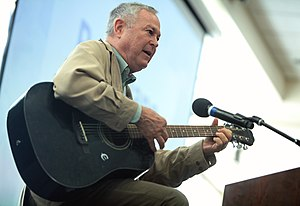 Dana Rohrabacher - Congressman Rohrabacher performing guitar for attendees at the 2016 Young Americans for Liberty California State Convention