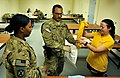 U.S. Soldiers participate in sexual assault forensic examinations training May 25, 2013, at Bagram Airfield, Afghanistan 130525-F-IW762-005.jpg