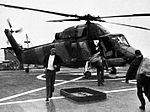 UH-2 Seasprite aboard USS Long Beach (CGN-9), circa in 1966.jpg