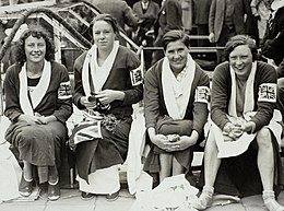 UK Women 4x100m team 1928 Olympics.jpg