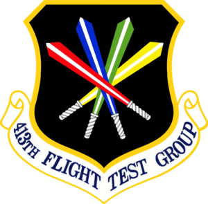 413th Flight Test Group - 413th Flight Test Group Emblem