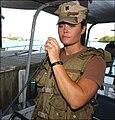 USCG sailor uses a radio in Guantanamo.jpg