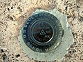 USGS Bench Mark at Meditation Point, Los Alamos, NM - panoramio.jpg