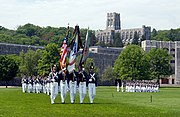 USMA Color Guard on Parade