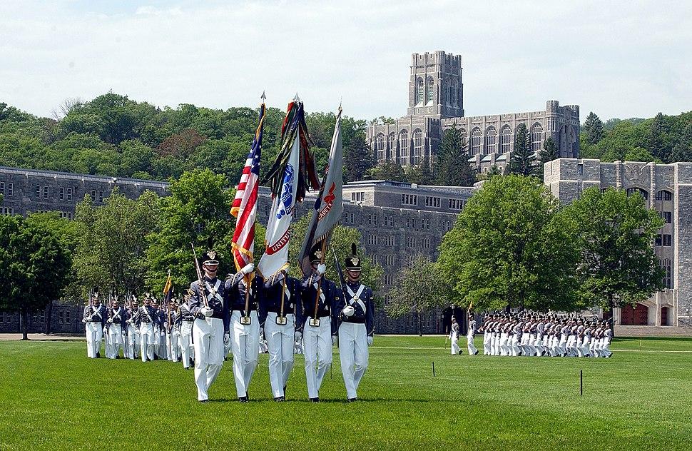 USMA Color Guard on Parade