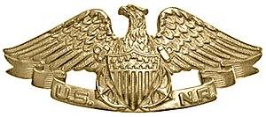 Navy Reserve Merchant Marine Insignia - Naval Reserve Merchant Marine Insignia