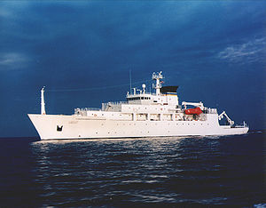 USNS Bowditch at sea