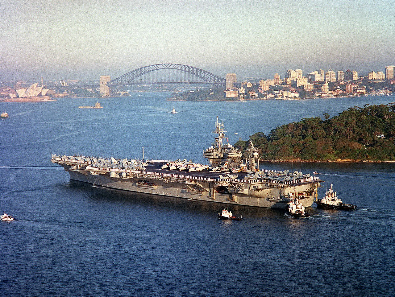 file uss constellation  cv-64  sydney australia 2001 jpg