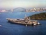 USS Constellation (CV-64) Sydney Australia 2001.jpg
