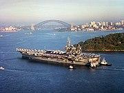 USS Constellation (CV-64) Sydney Australia 2001
