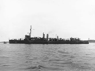 USS Gregory (DD-82) - Gregory after conversion to a high-speed transport.