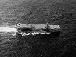 USS Hoggatt Bay (CVE-75) underway at sea, circa in 1945.jpg