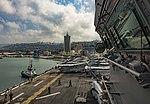 USS Iwo Jima (LHD 7) arrives in Haifa, Israel. (39014423660).jpg
