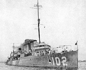 USS Mahan, DD-102