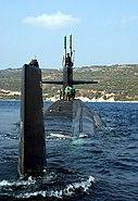 USS Newport News SSN-750 Oct04 aft
