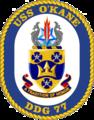 USS O'Kane DDG-77 Crest.png